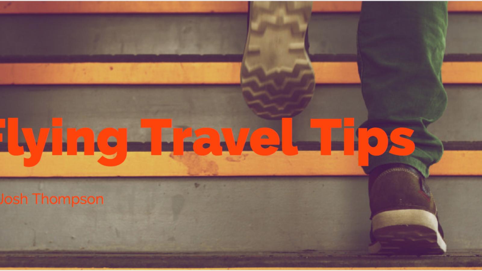 Flying travel tips