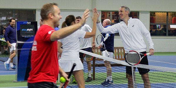 Tennis Clinic Participants