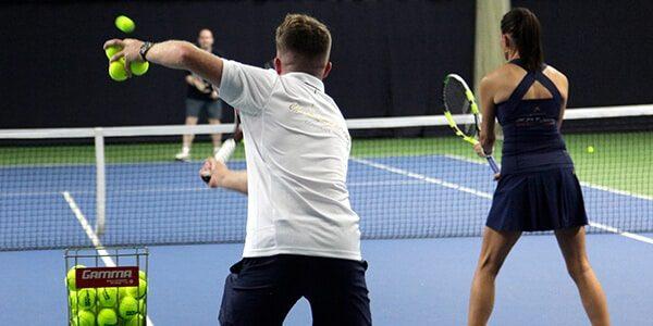 Tennis Clinic Spaces